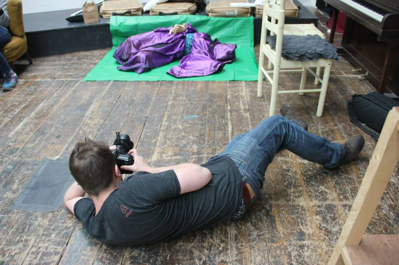 The Shooting. Photo credit: Sorcha Crilly